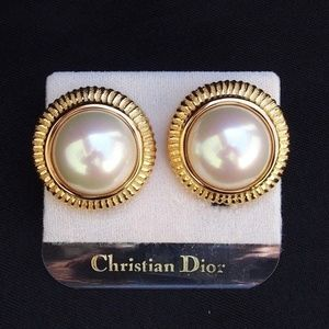NEW Vintage Christian Dior Faux Pearl Statement